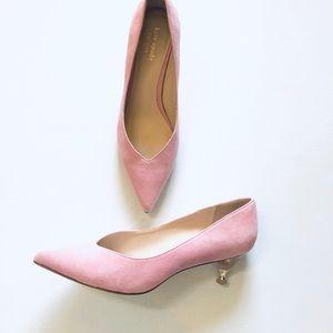 KATE SPADE• Coco Heels Rococo Pink